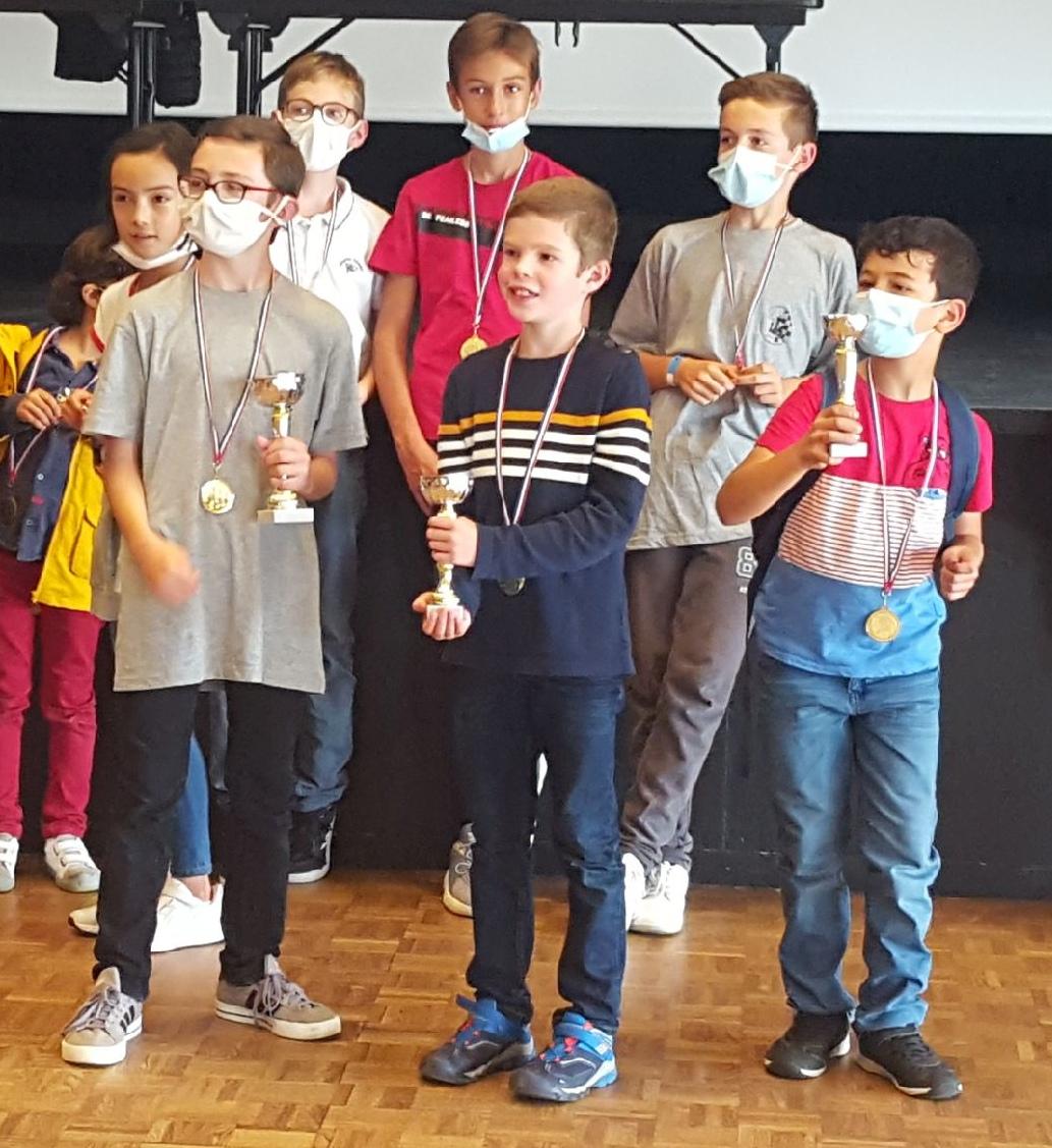 Shady (à droite), 3ème du tournoi Jeunes !