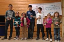 Echecs carquefou podium 2012